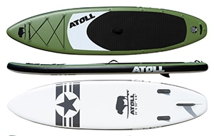 atoll best inflatable paddle board