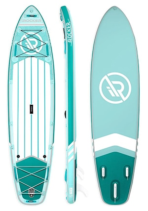 irocker all around 11 inflatable paddle board