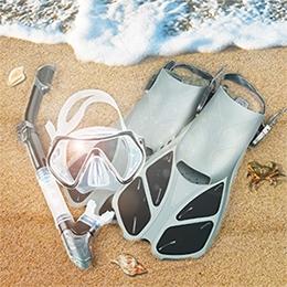 zeeporte mask fin snorkel set